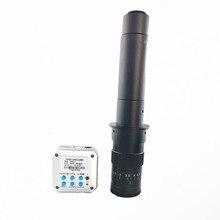 IR télécommande 20MP 1080 P 60FPS HDMI USB sortie industrielle Microscope numérique caméra vidéo + 180X 300X c-mount zoom objectif