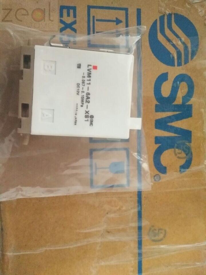 FOR Japan SMC Solenoid Valve LVM11-6A2-XS1 LVM116A2XS1 LVM 116A2 XS1 4 Port Hematology Analyzer XS800i,XS1000i,XS500i NEW