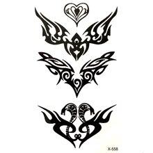 Cobra Waterdichte Tijdelijke Tattoo sticker voor mannen en vrouw Snake tatuajes adesivos para moto auto styling sticker fake tattoo