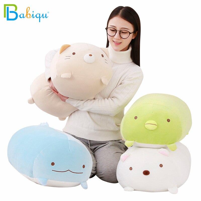 30/60cm Soft Animal Cartoon Pillow Cushion Cute Fat Dog Cat Pig Plush Toy Sumikko Gurashi Stuffed Kids Birthyday Gift