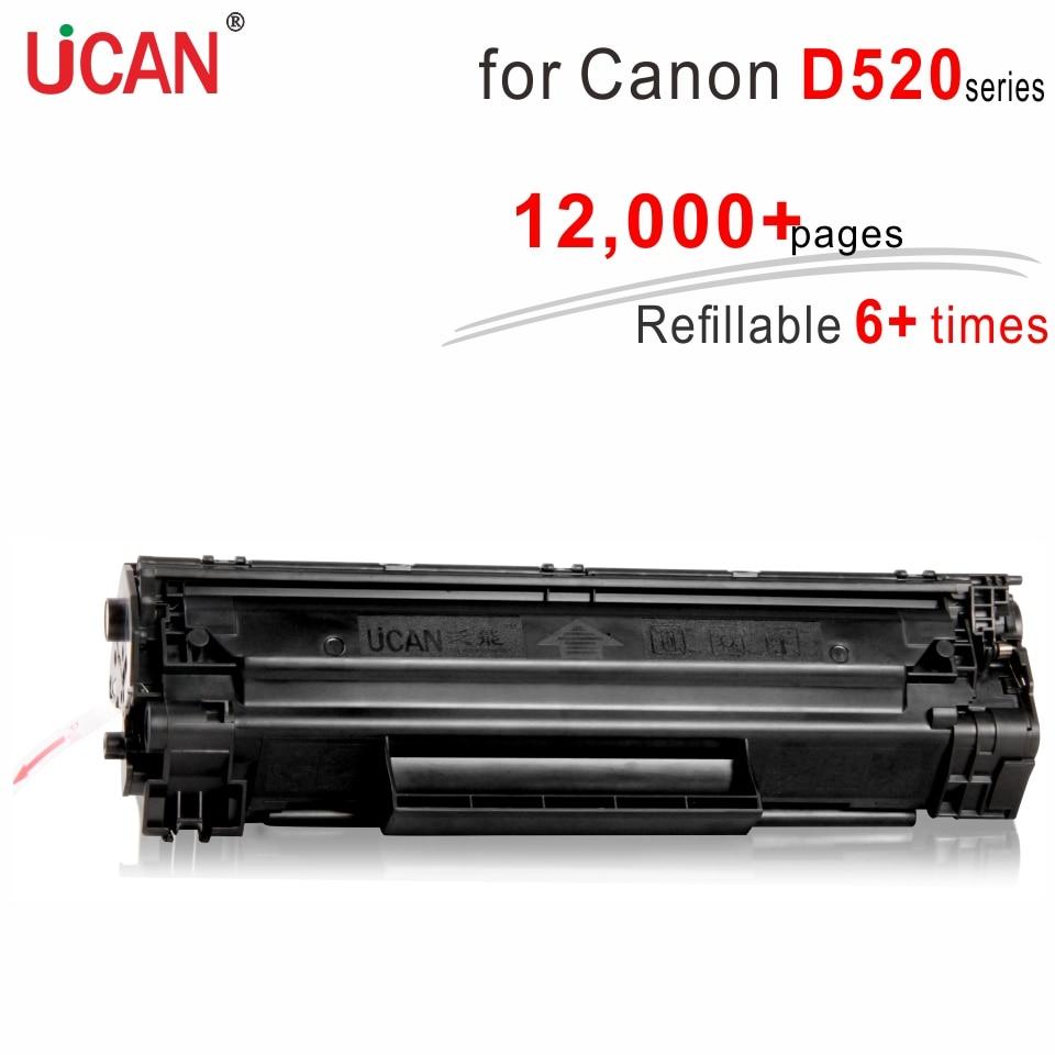 Compatible Canon D520 D530 D550 D580 impresora 328 528 cartucho 728 UCAN 6 + veces súper duradero cartuchos de tóner