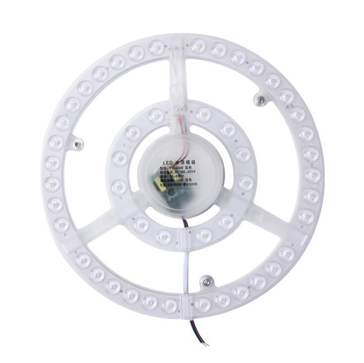 1 Uds usted 24W 36W 48W 72W LED anillo PANEL círculo luz AC220V-240V LED redondo techo tablero de la lámpara circular