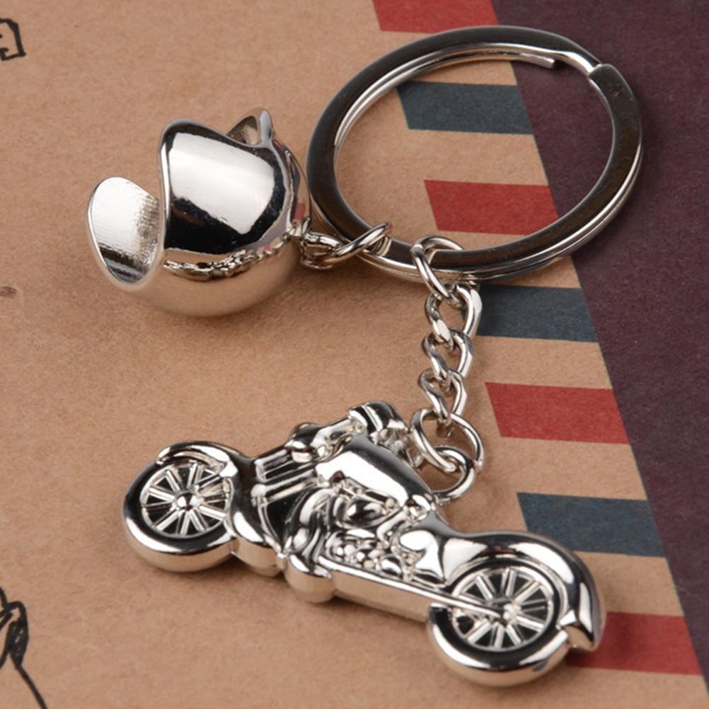 ¡Oferta! llavero inteligente para accesorios de estilo de coche motocicleta casco llave Motor de aros llavero Metal Motocross
