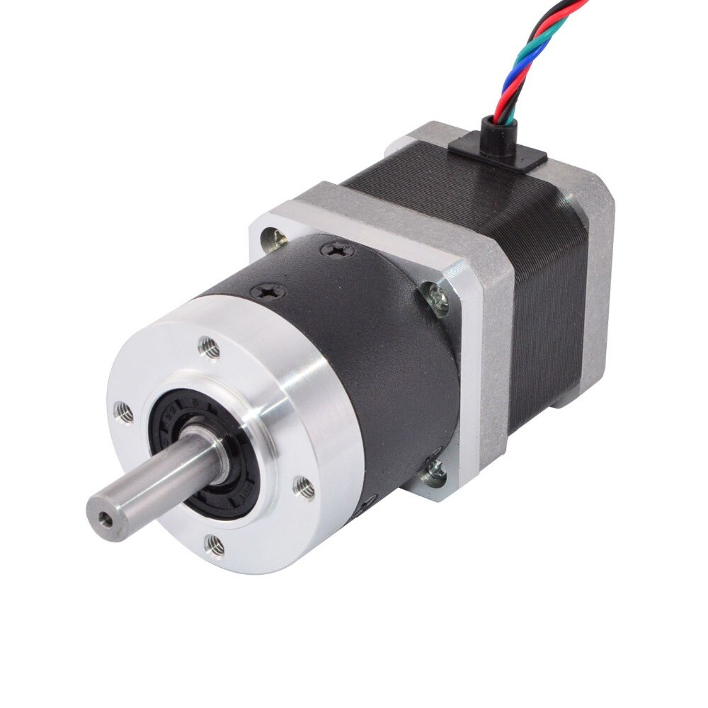 High Precision Nema 17 Planetary Gearbox Reducer Gear Ratio 3:1 for CNC Robotics/3D Printer Motors
