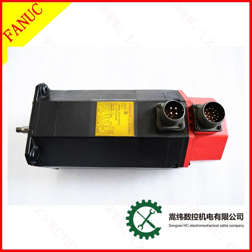 FANUC AC servo motor A06B-0314-B003 for tested 5s
