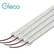 4 pièces 50CM barre de LED Lumière 5730 5630 36LED s DC12V Dur bande LED rigide Barre Lumineuse 5730 avec U coque En Aluminium + pc couverture