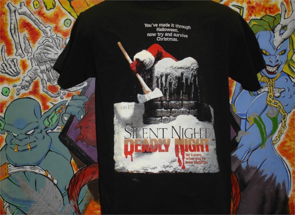 Silent Night Deadly Night Rooftop Shirt Lucio Fulci Dario Argento Horror