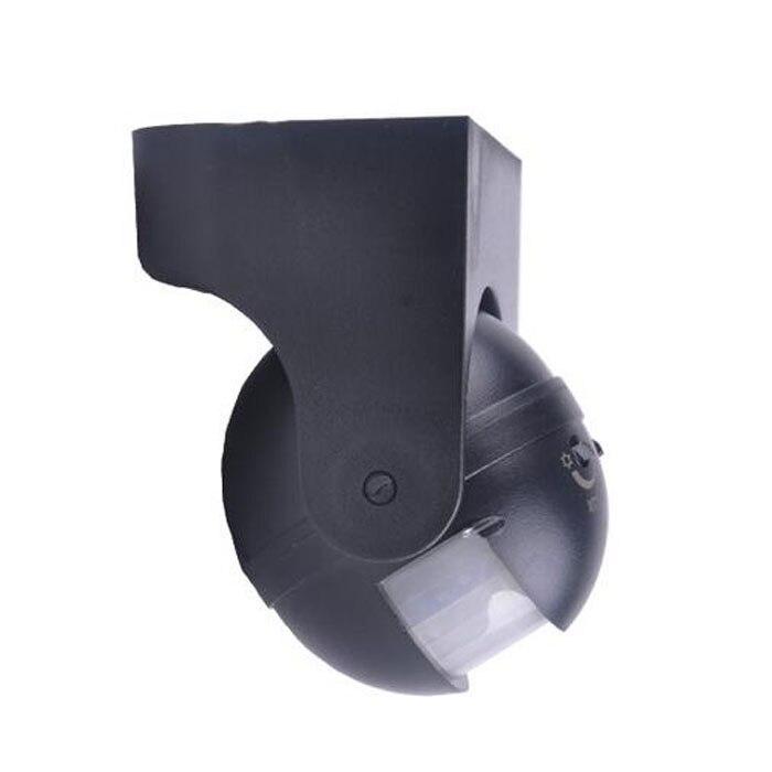 Vendas Hot 110-240 v hz 50 180 Graus Interruptor PIR Sensor Infravermelho de Movimento Detector de Movimento Segurança Ao Ar Livre Dois cor 12 metro