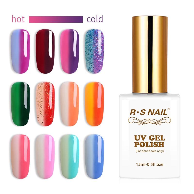 RS-Esmalte de uñas en Gel para uñas, laca de Gel para uñas...