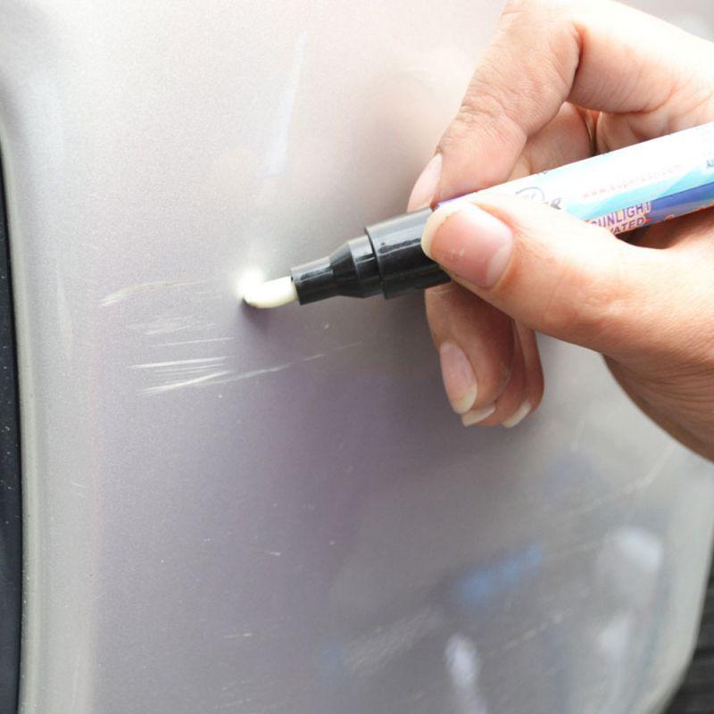 1 piezas magia Permanente Waterbestendig Werkt Op Alle Kleuren arreglarlo Pro capa clara del rasguño del coche cubierta Verwijder Reparatie schilder
