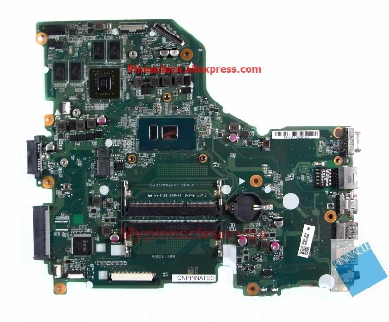 NBG3H11001 I5-6200U GT940M placa madre para Acer Aspire E5-574G F5-572G V3-575G TravelMate P258 Extensa 2520 DA0ZRWMB6G0