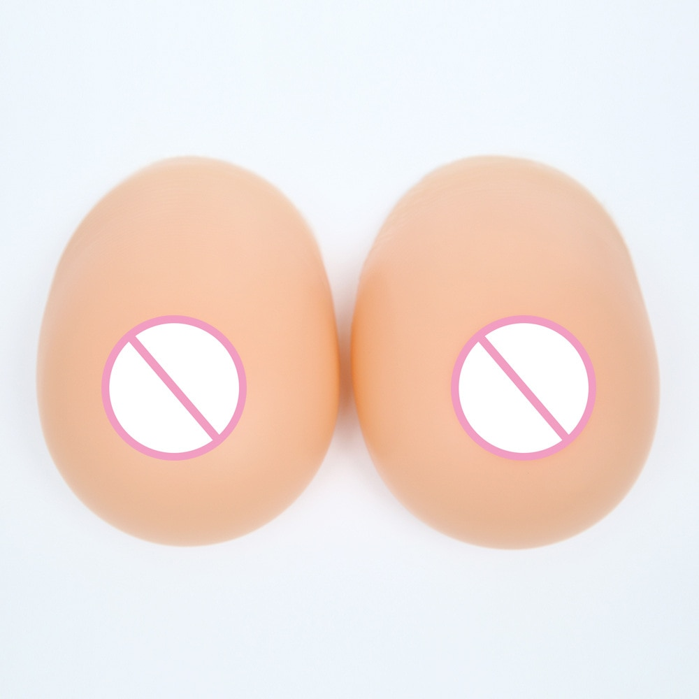 800 g/par C Copa realista Artificial Split pecho falso masculino Drag Queen transexual hombre travesti
