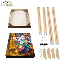 Cadre en bois cadres de toile cadre photo en bois pour peinture sur toile pour peinture à lhuile cadre de bricolage 40x50cm pour impression sur toile Art mural