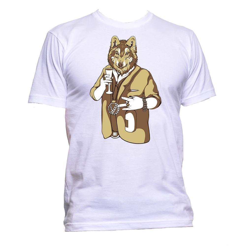 Parodia gángster Mafia diseño de perro camiseta para hombres y mujeres Unisex moda eslogan regalo Tops básicos de manga corta