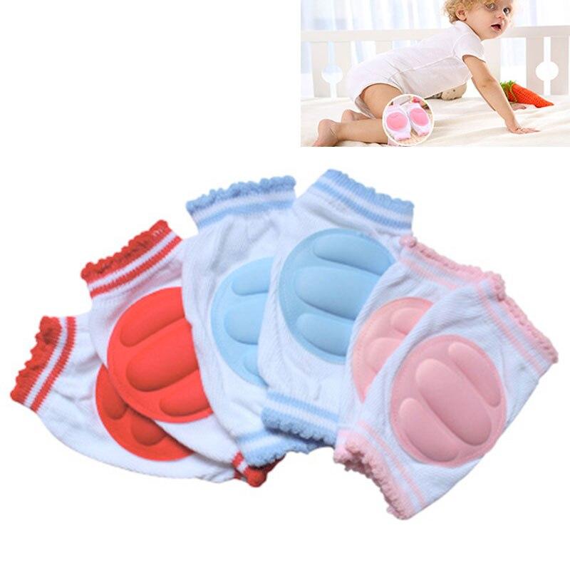 Ясельного возраста и для прогулок; 1 пара хлопковую губку дышащие Наколенники детские леггинсы для девочек; Детские наколенники налокотник...