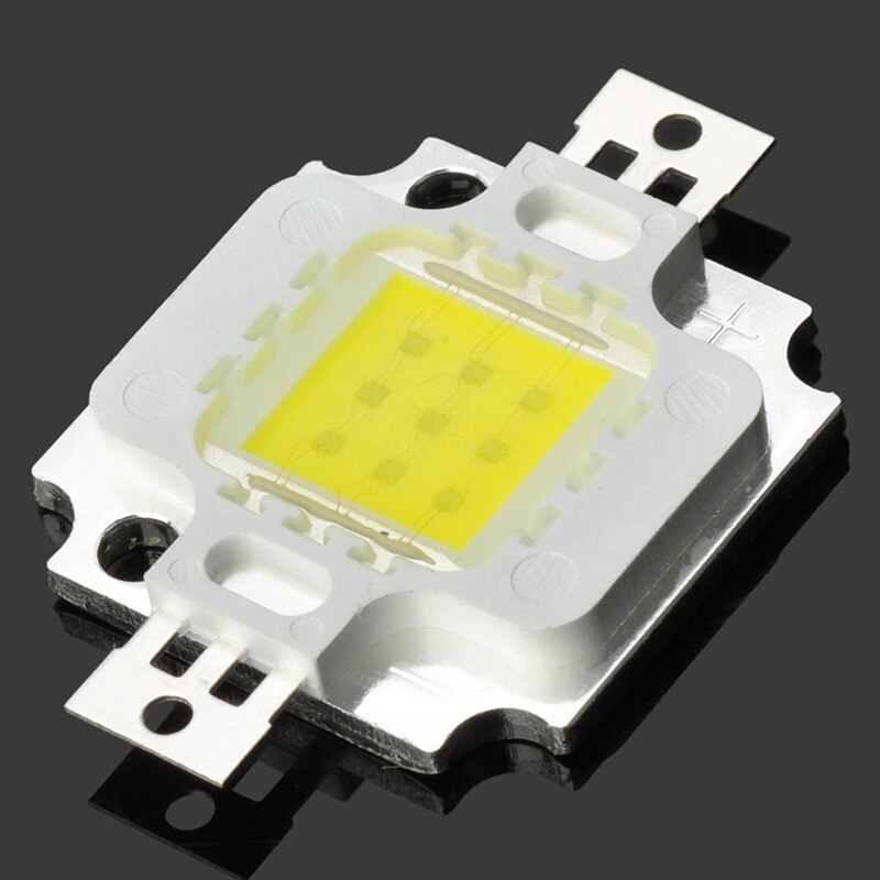 De alta potencia de 10W 12V 900-1000LM 6000-6500K blanco modulo de led muy luminoso chip abalorios para lámparas led