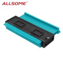 ALLSOME plastique profil copie jauge Contour jauge duplicateur Standard 5