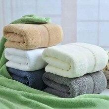 Hap-deer Thickening Towel 70x140cm 100% Cotton Absorbent Solid Color Soft Comfortable Men Women Bathroom Beach Travel Bath Towel