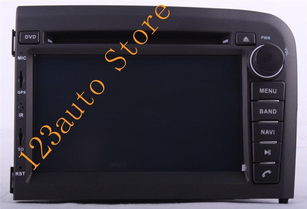 "7 ""Android 9,0 ocho Octa core CD de coche reproductor de DVD GPS de navegación de 4G RAM 64G ROM para VOLVO S80 1998 ~ 2006 PX6 radio Estéreo"
