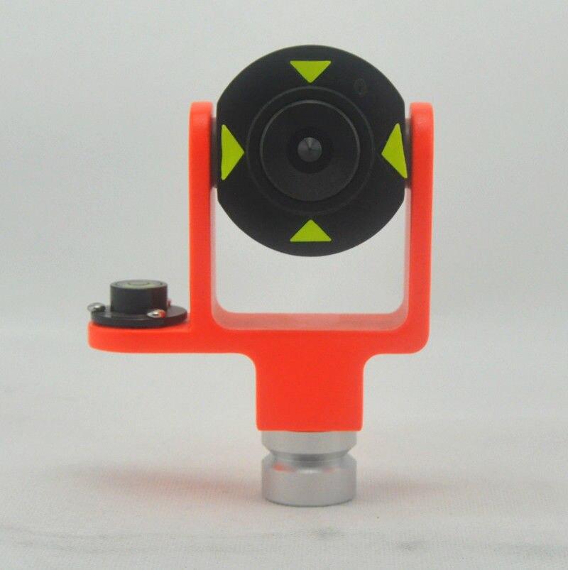¡Nuevo! MINI prisma metálico de 5 uds. De 0/-30 OFFSET con burbuja lateral con Prisma de burbuja lateral de bolsa suave