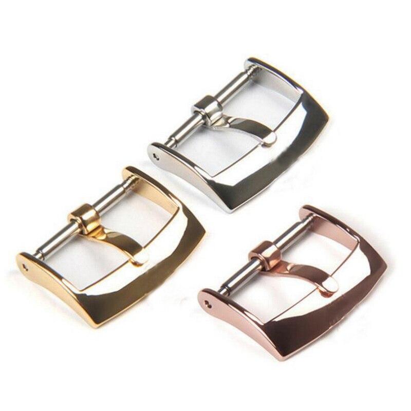 Ремешок для часов из нержавеющей стали 316, 16 мм, 18 мм, 20 мм, сменный ремешок с пряжкой для часов, для мужчин и женщин