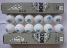 Originele 12 Ballen/lot JOOLA 3 Ster Plastic Tafeltennis Ballen Naadloze 40 + Nieuwe Materiaal Wit Ping Pong ballen ITTF Goedgekeurd