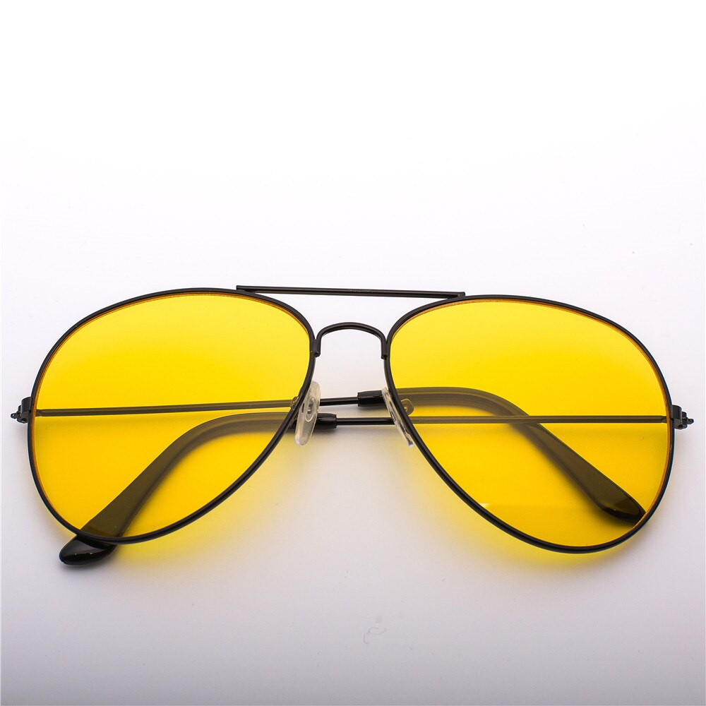 2018 NEW  Pilot  Night Vision Sunglasses Men Women Brand Goggles Glasses Sun Glasses Driver Night Driving Eyewear UV400