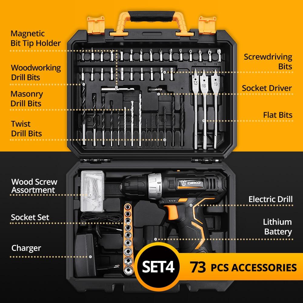 Akumulátorová vrtačka 12V, elektrický šroubovák s - Elektrické nářadí - Fotografie 3
