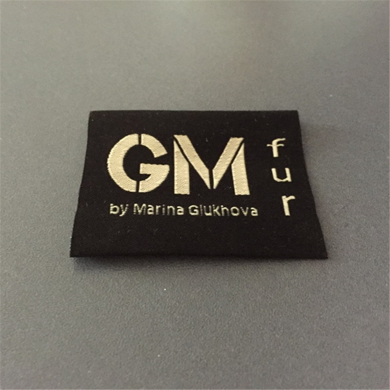 Etiquetas tejidas personalizadas, Etiquetas tejidas de Jacquard para ropa/etiquetas de ropa personalizadas
