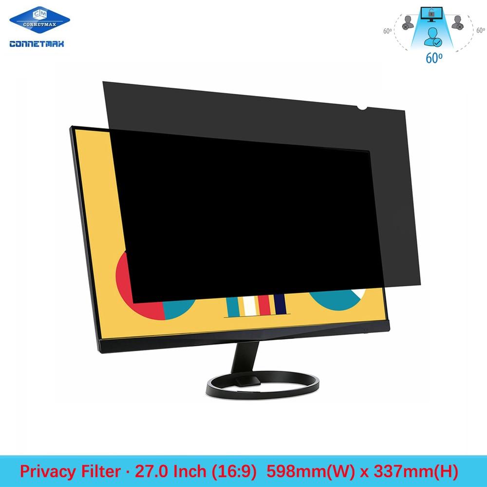 27 polegada filtro de privacidade filme protetor de tela para widescreen (16:9) monitores lcd desktop