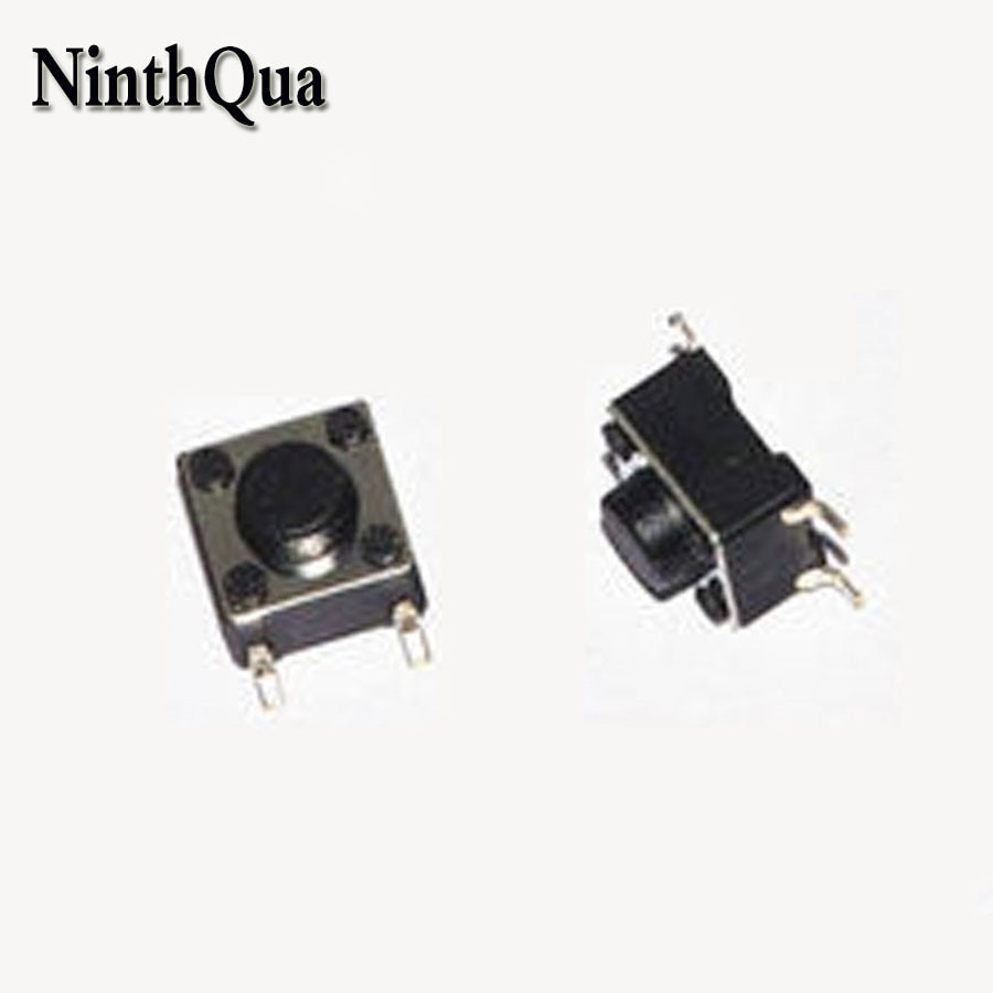 50 Uds 4,5mm * 4,5mm 4Pin SMD tacto interruptor 4,5x4,5x3,8/4,3/5/7mm 4P Micro botón interruptores táctiles para MP3 MP4 MP5 Tablet PC ect