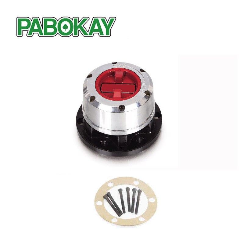 1 قطعة x لنيسان باترول 4x4 PU 90-up TATA Sumo all, فورد مافريك 90-> محاور قفل العجلة الحرة B021HP AVM445HP