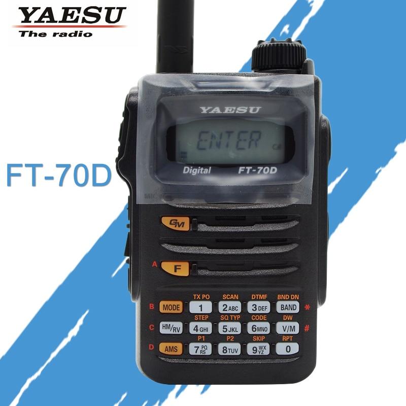For the Original Yaesu FT-70D Walkie Talkie C4FM / FM Dual-Band Digital Handheld Two Way Radio Transceiver