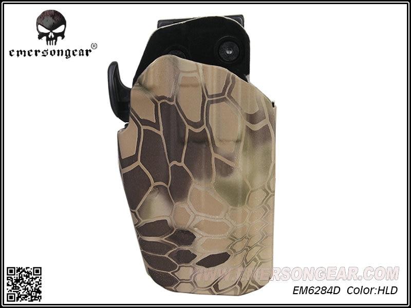 Funda Pro-Fit EmersonGear de derecha 579 Gls WALTHER PPQ M2 9/40 compatible con un 100 más de pistola Highlander EM6284D