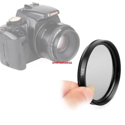 Acessórios de Lente Verde Circular Filtro Polarizador 49 Green. l Câmera 58mm Cpl