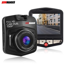 Kommander 170 grabadora de vídeo gran angular g-sensor de visión nocturna mini coche Full HD 1080 P Cámara DVRs para coche