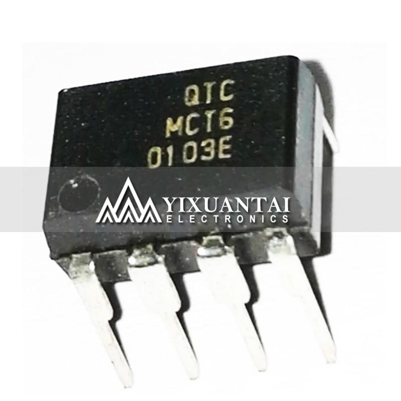10 DIP8 MCT6 Pçs/lote 100% originais