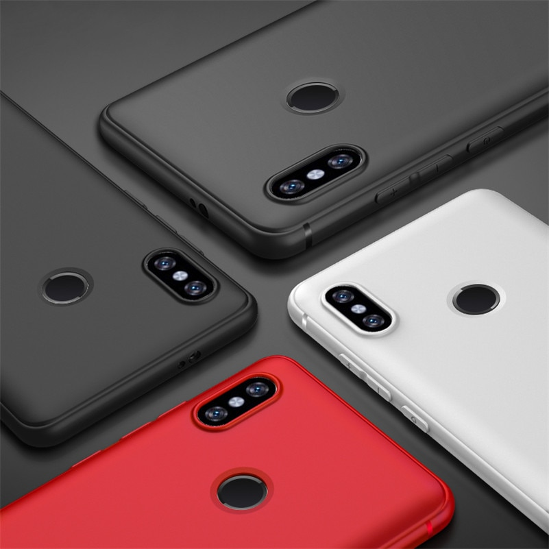 Matte TPU Matt Silicon Telefon Abdeckung Für Xiao mi Red mi 5 Plus Fall Anmerkung 5 5A 6A 6 S2 4X4 4A mi 8 5x 6X A2 mi x 2 Mobile Fällen