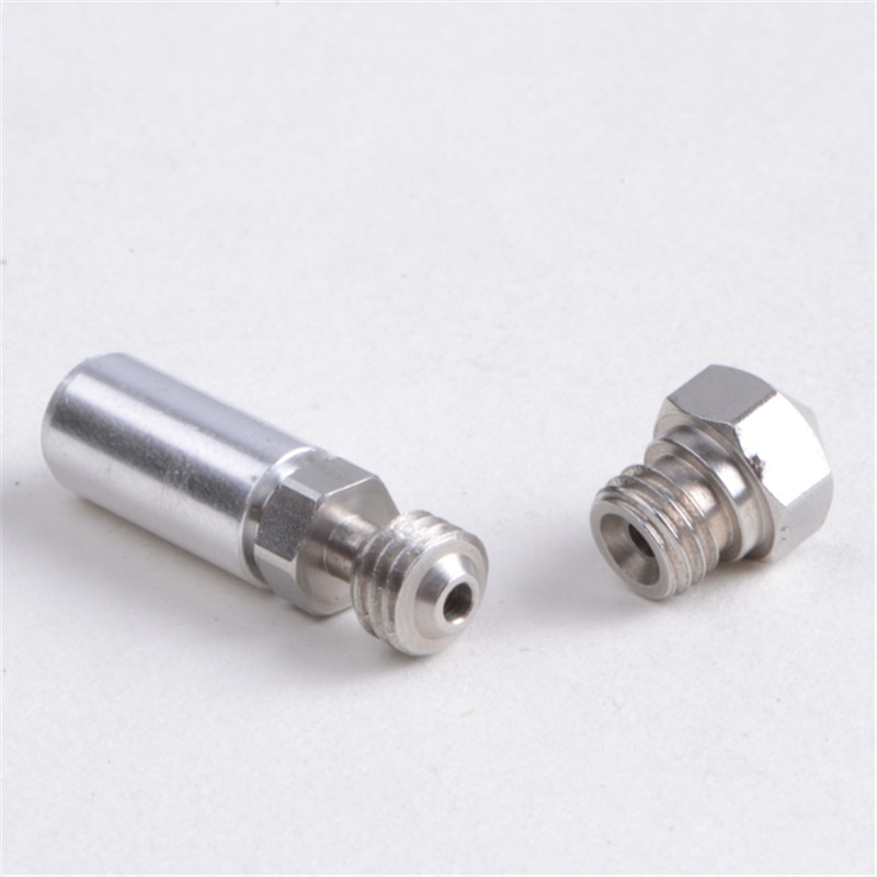 Kit de actualización de Metal MK10 para tubería de barrera térmica Flashforge/CTC/Wanhao 3D de 1,75mm
