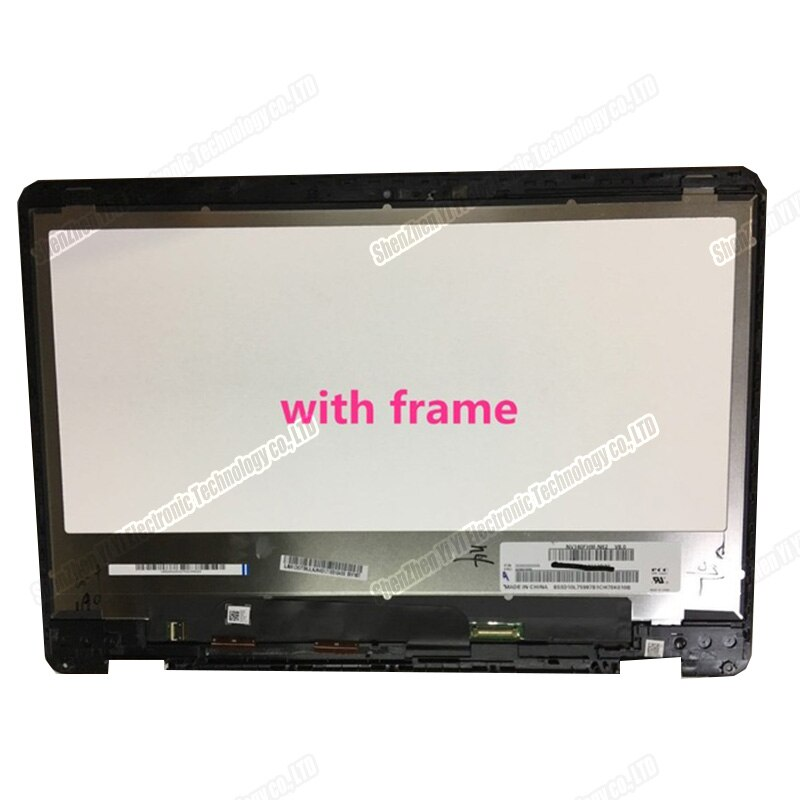 Livraison gratuite 14 pouces ordinateur portable FHD LCD écran tactile numériseur verre assemblée pour Asus Zenbook Flip 14 UX461U ux461un ux461