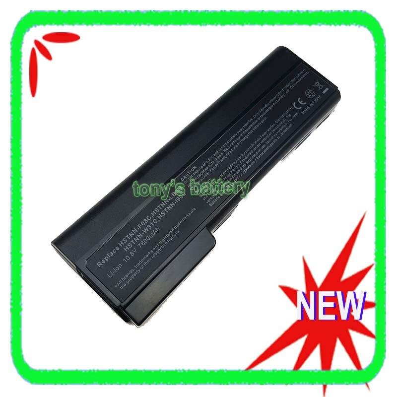7800mAh 9 célula de la batería para HP EliteBook 8460p 8460w 8560p 8470p 8570p 8470w HSTNN-OB2H CC09 628664-001 628666-001
