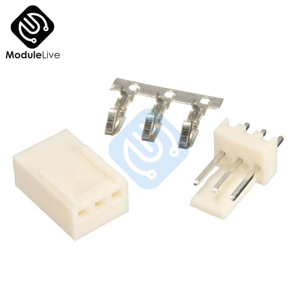 50PCS Kit3 Pin KF2510-2P KF2510-3P KF2510 3 P 2P 2,54mm Pitch Terminal Gehäuse Pin Header Adapter Anschlüsse kits