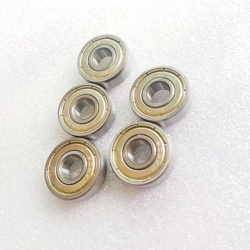 50PCS 624ZZ 4x13x5mm miniature deep groove ball bearing 4*13*5mm
