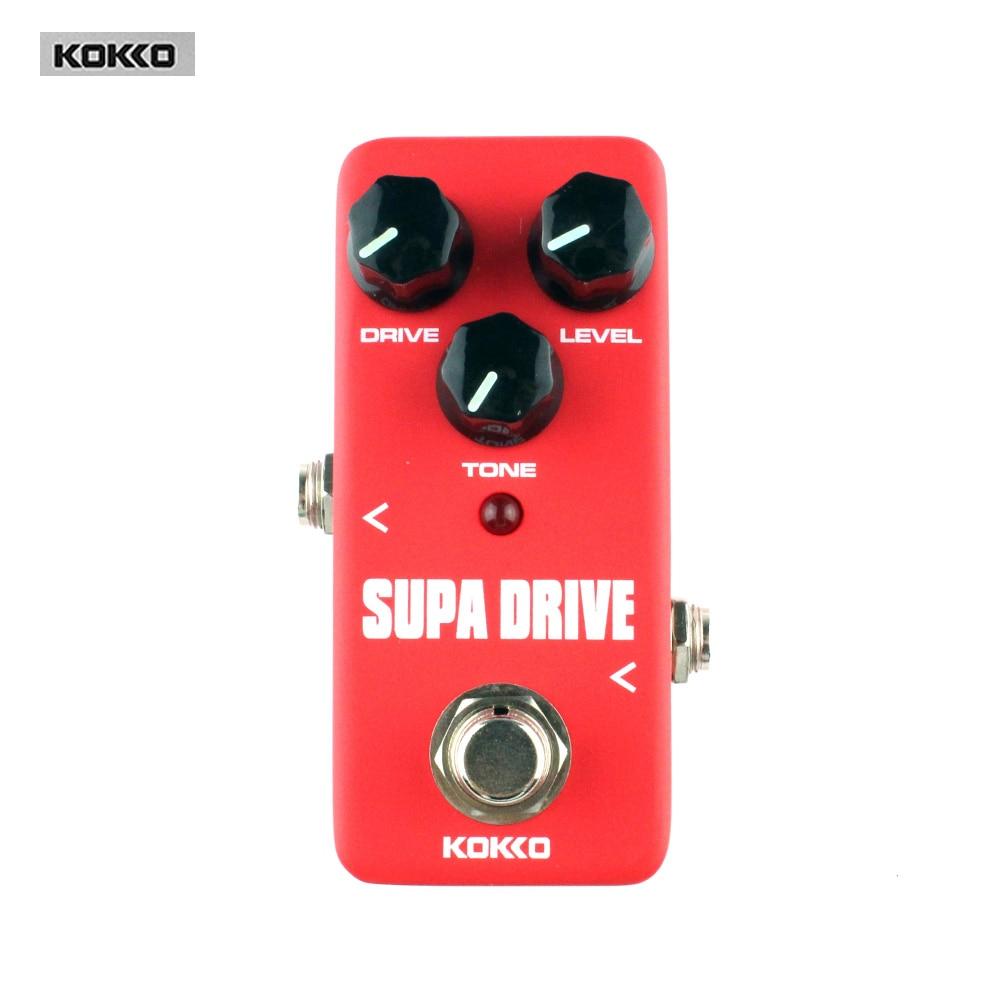 Аксессуары для гитар KOKKO FOD5 Supa Drive Классическая педаль эффектов для электрогитары педаль эффектов