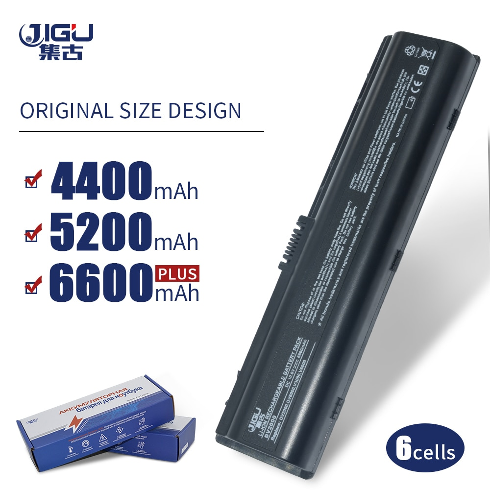 JIGU nueva batería de ordenador portátil para HP COMPAQ Presario C700 V3000 F500 DV2000 HSTNN-DB42 HSTNN-LB42 HSTNN-LB42 HSTNN-OB31