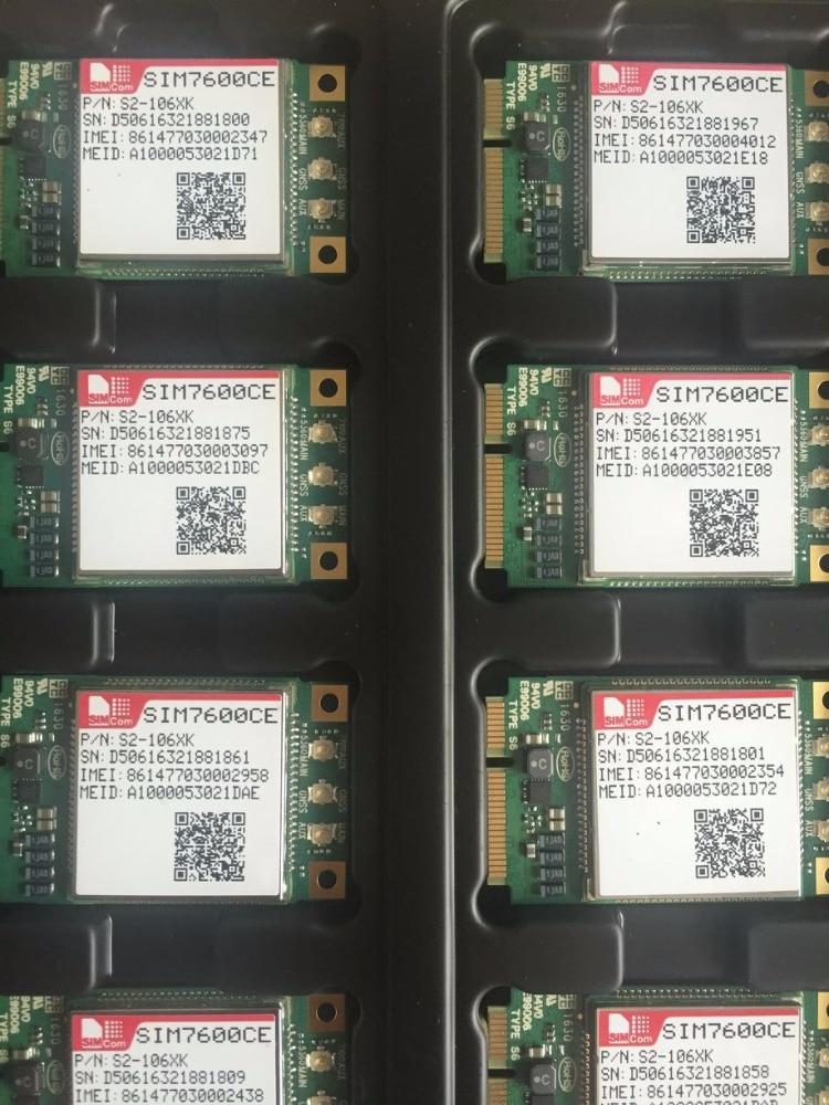 JINYUSHI ل SIM7600CE البسيطة بكيي وحدة مع بطاقة SIM فتحة 4G 100% جديد وأصلي حقيقية الموزع TDD-LTE/FDD-LTE/WCDMA