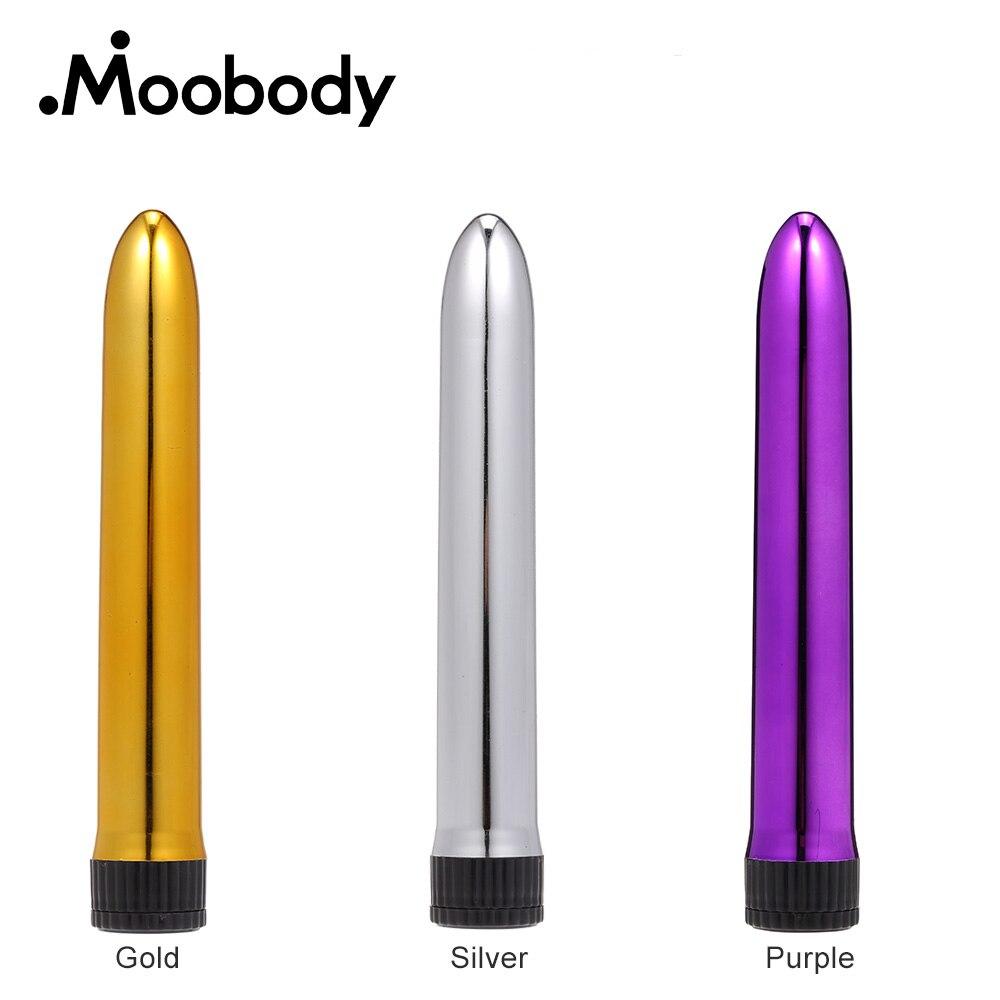 Vibrador potente de 7 pulgadas para punto G, Consolador de varias velocidades, Mini bala AV, varita masajeador de clítoris, masturbador femenino, Juguetes sexuales para mujer