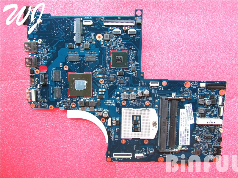 Placa base para ordenador portátil HP ENVY QUAD TouchSmart 17 M7 17T 720267-501 HM87 GT750M 100% totalmente probado