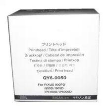 Original Printhead QY6-0050 QY6-0050-000 inkjet Print Head  for Canon PIXUS 900PD i900D i950D iP6100D iP6000D nozzle QY6 0050