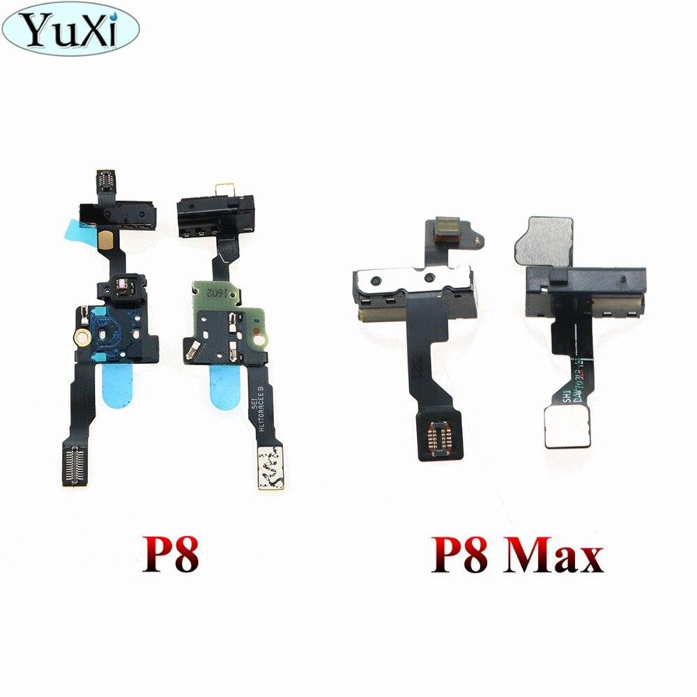 YuXi auriculares Jack Audio proximidad Sensor de luz Sensor de distancia conector flex cable para Huawei Ascend P8/P8 max